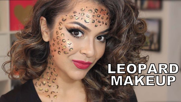 Easy Last Minute Halloween Makeup Look - Leopard Makeup Tutorial IT'S ALMOST HALLOWEEN! Here's my look to save you if you don't have a costume yet! :) Make s...