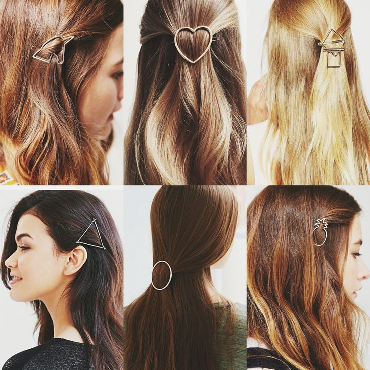 OBSESSED with metallic shape clips ✨ see the best ones on thebeautydepartment.com