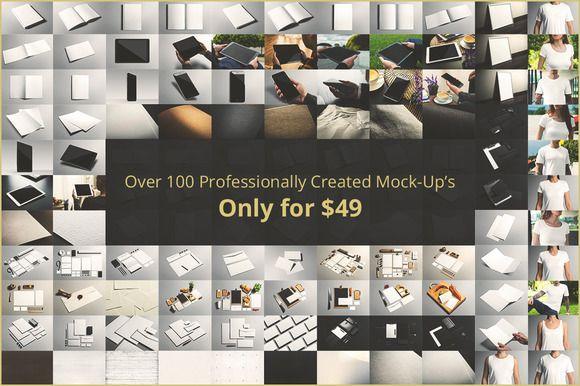 Branding Mock-up's Bundle by Mockup Cloud on Creative Market