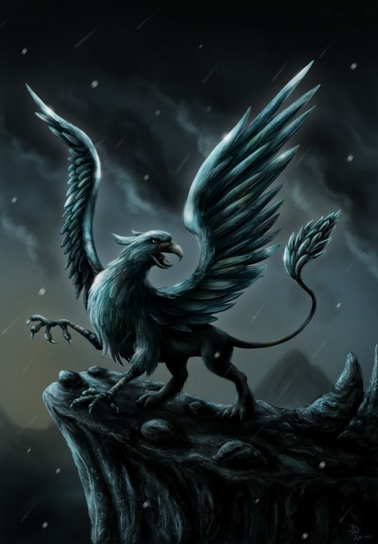 Not sure what a gryphon is? Here's a great image from DeviantArt showing their half-eagle / half-lion form. In Unintended Guardian, Griff stays in his human form most of the time (he's much sexier that way ;) ). (http://jamigold.com/unintended-guardian/)