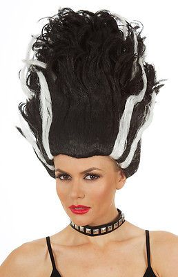 #Monster #bride of #frankenstein costume wig halloween fancy dress party ,  View more on the LINK: http://www.zeppy.io/product/gb/2/331612211886/