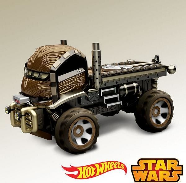 Hot Wheels Star Wars - SDCC - Chewbacca