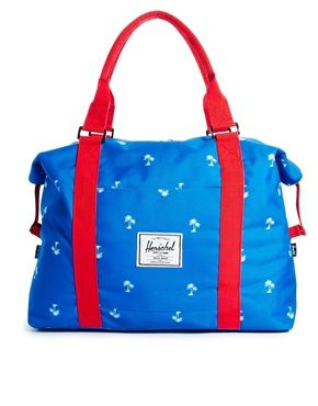 Image 1 of Herschel Strand Carryall in Palm Tree Print