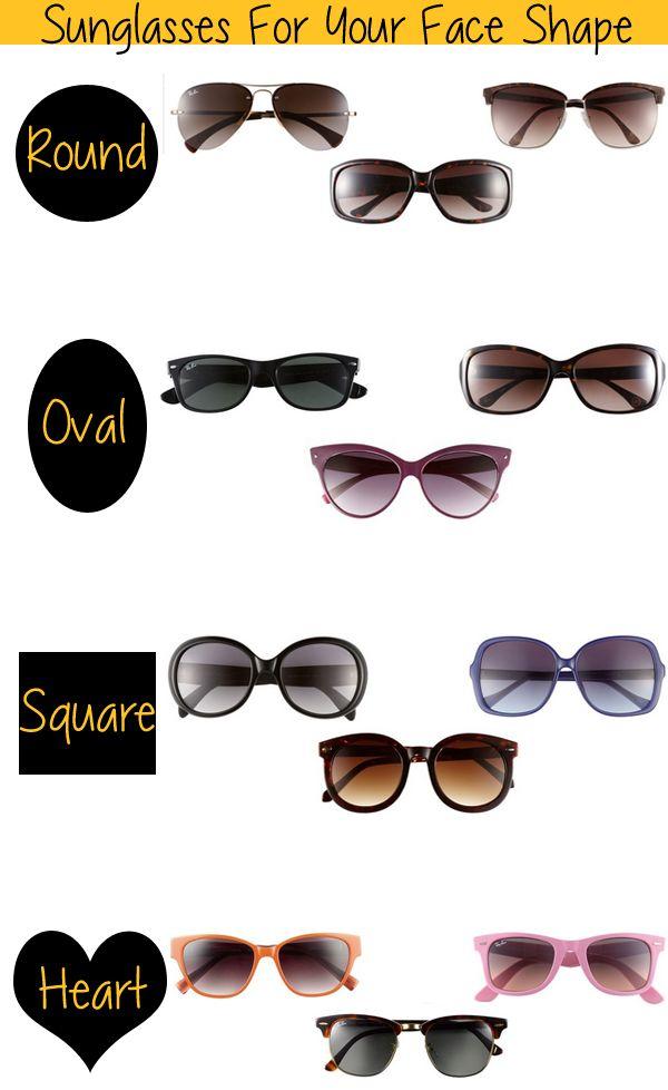 82e6495094 Sunglasses for Your Face Shape