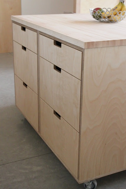the little forest house: Kitchen Cabinets 2 - island unit