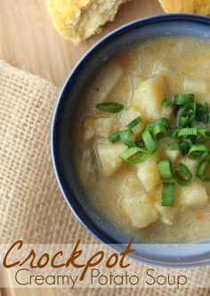 Easy homemade creamy potato soup recipe