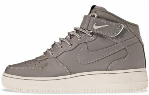Nike Air Force 1 Mid in Medium Grey and Workboot Style