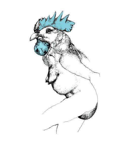 Cock by Sasha Tugolukova