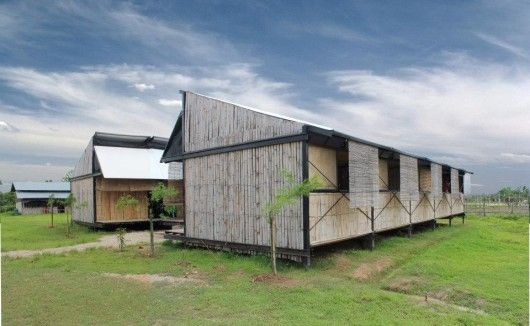 A Movable School Building Trust + Ironwood Location: Mae Sot, Thailand Architect In Charge: School 4 Burma Competition Winners Amadeo Bennetta & Dan LaRossa and Building Trust international Design Team Year: 2012