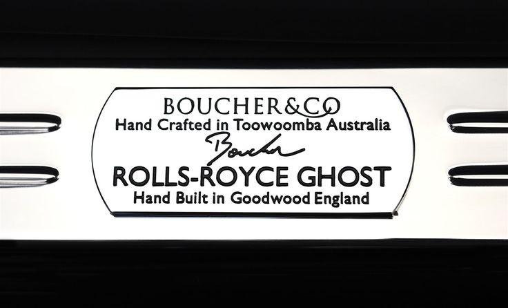 Boucher inspired Rolls-Royce Ghost treadplate