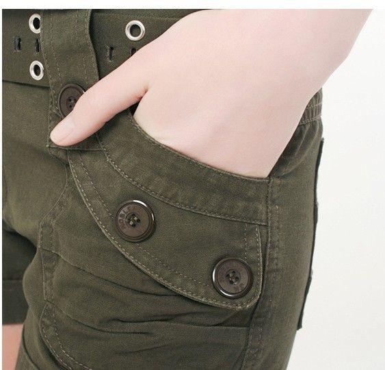 Aliexpress.com: Comprar Pantalones cortos de camuflaje moda básica nueva pantalones cortos calientes mujeres sueltan el cordón pantalones de camuflaje pantalones cortos de shorts romper fiable proveedores en HOLYRISING STORE