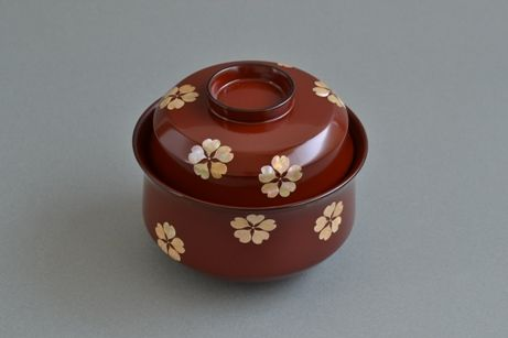 蒔絵の最高峰 人間国宝松田権六の椀  Soup Bowl
