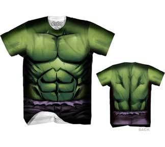 Commemorate your favorite cult classic with an awesome Marvel Incredible Hulk Performance Athletic Sublimated Costume T-Shirt . Free shipping on The Incredible Hulk orders over $50.