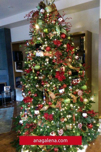 40 Ideas para decorar tu árbol de navidad.