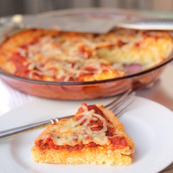 spaghetti squash pizza: Pizza Spaghetti, Pizza Crusts, Spaghetti Squashes Pizza, Food, Healthy, Savory Recipe, Nom Nom, Hidden Veggies, Dinner Tonight