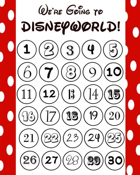 Best Disney Countdown Calendar Ideas Images On