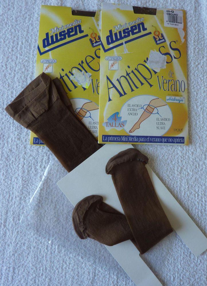 Lot de 2 paires de mi bas femme taille 3 Marron neuf ebay brunomimi2008