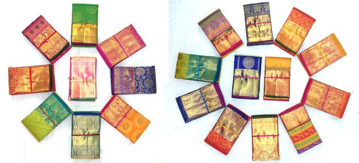 Kanchipuram Silk Sarees Online Shopping - Manufacturer, Wholesale and Retail Shop - Rainbow Silk Sarees
