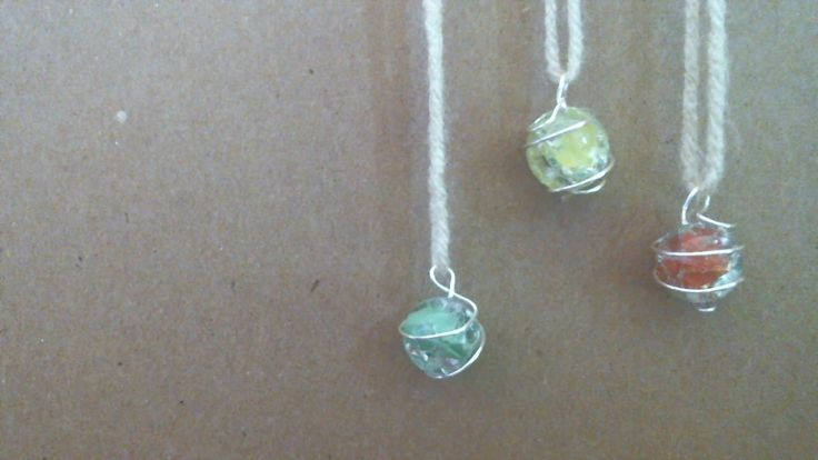 Today we will be making cracked marble jewelry! The video will be divided up into two sections; cracking the marbles, and making the wire cages. Feel free to...