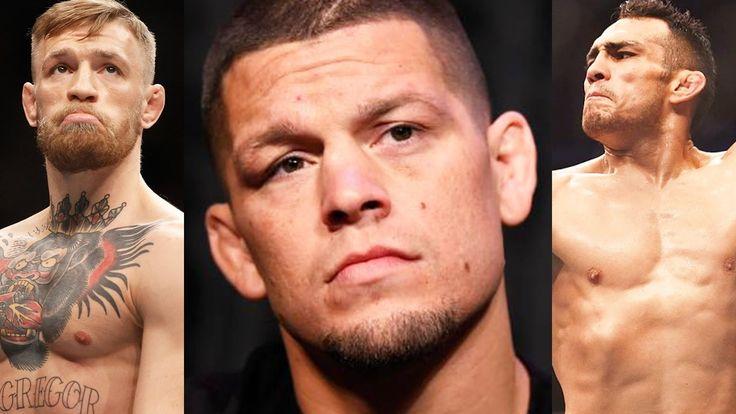 Nate Diaz RESPONDS: I NEVER asked for a 3rd fight! Diaz responds to Ferguson, Rockhold in camp https://www.youtube.com/watch?v=AXej_0hD4Bg