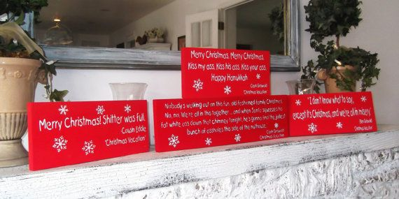 Clark Griswold Christmas Vacation movie quote sign package, funny christmas decoration, funny signs, holiday decor, holiday signs, rv , xmas