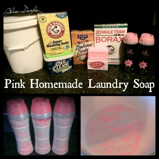 103 Best Homemade Laundry Solutions Images On Pinterest