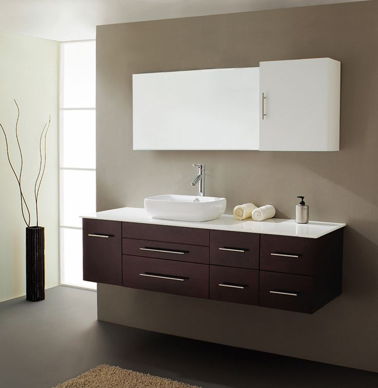 10 best modular bathroom vanities images on pinterest bathroom ideas bathrooms decor and bath for Prefabricated bathroom cabinets