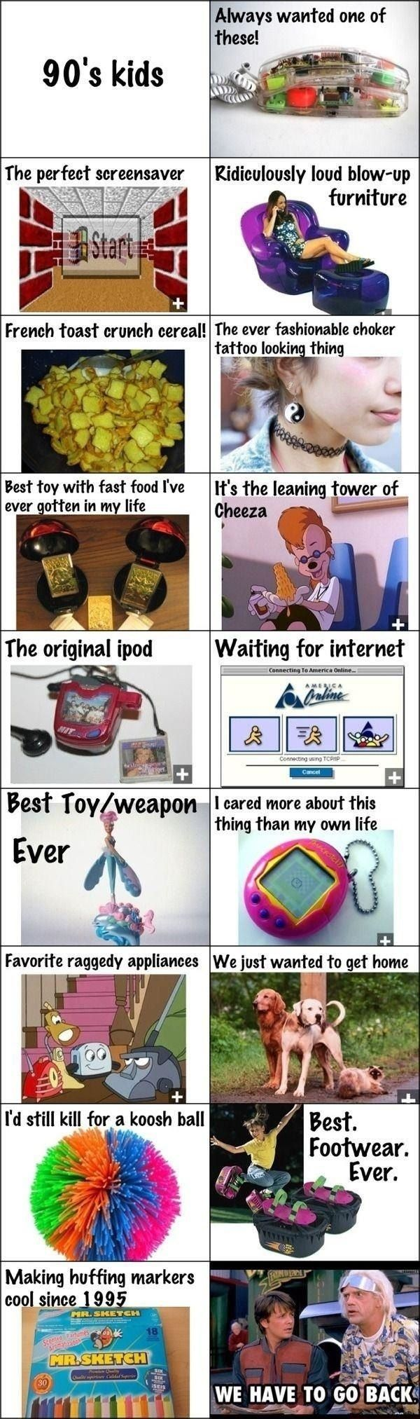 Out of all the 90's posts, this is absolutely the most accurate one. I had EVERY SINGLE ONE of these things. No. Joke. :O