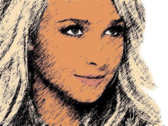 Cartoon girl Sketch by DamonLarue.deviantart.com on @deviantART
