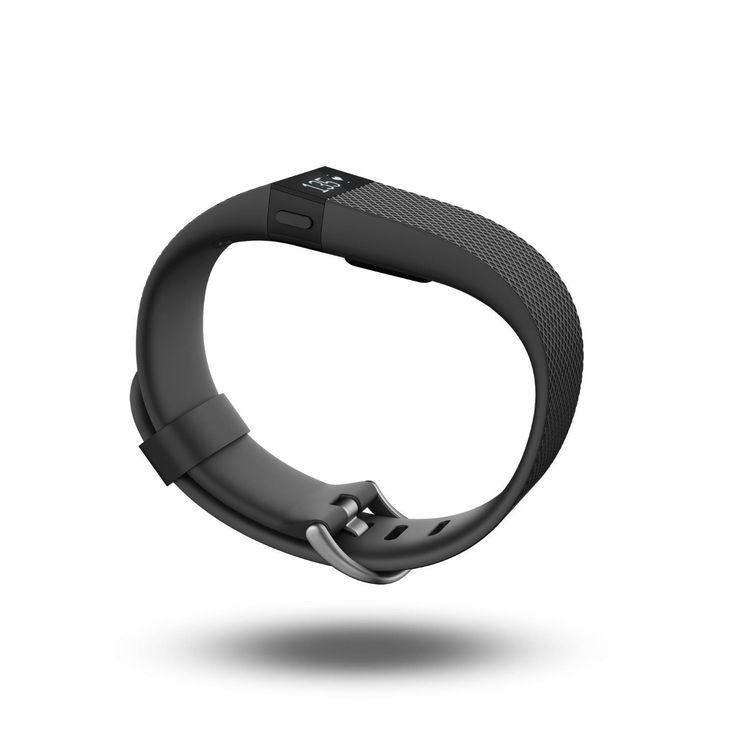 Fitbit Charge Hr - Noir - Taille L (Fb405bkl) pas cher - PriceMinister-Rakuten