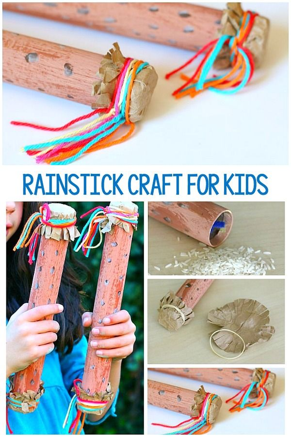 How To Make A Rainstick Instrument Instrument Craft Music