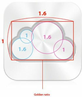 """It was hidden in the product design of Apple's """"golden ratio"""""""