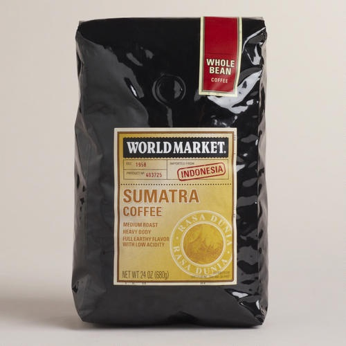 One of my favorite discoveries at WorldMarket.com: 24-oz. World Market® Sumatra Coffee