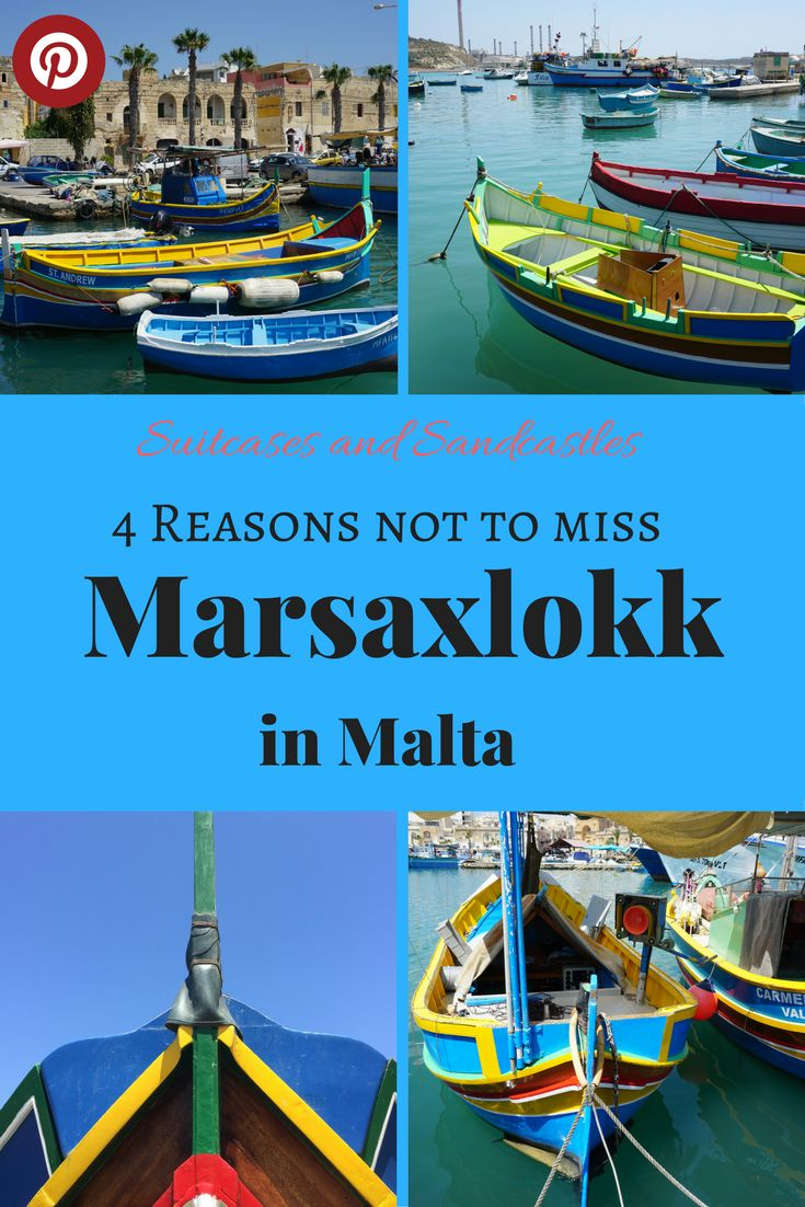 4 Reasons not to miss Marsaxlokk in Malta, Malta's prettiest harbour, where to find the luzzu boats in Malta, fishing boats in Malta, best places to visit in Malta, fishing markets and seafood restaurants in Malta