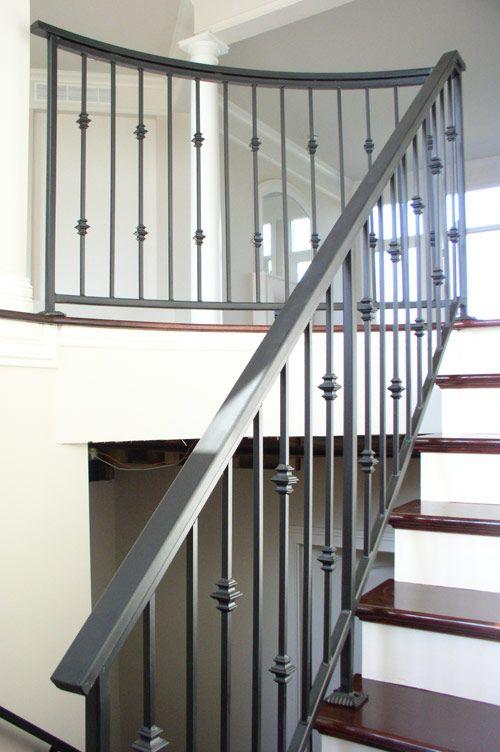ELEGANT IRON STUDIOS | Modern stair railing, Stairs design ...