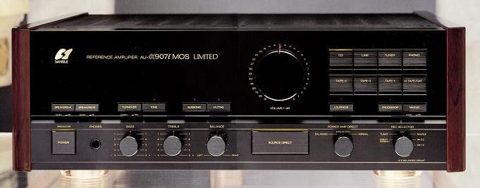 SANSUI AU-α907i MOS Limited (launched in 1987)
