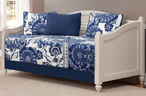 White Navy Daybed Set Daybed Bedding Sets Daybed Bedding Daybed Sets