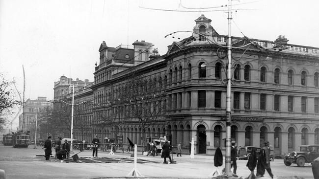 1934:Part of the St James Buildings. Picture: Herald Sun Image Library/ARGUS
