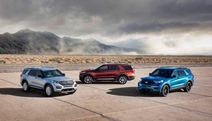 2020 Ford Explorer Suv S Luxury Vehicle Engineering Stands Out