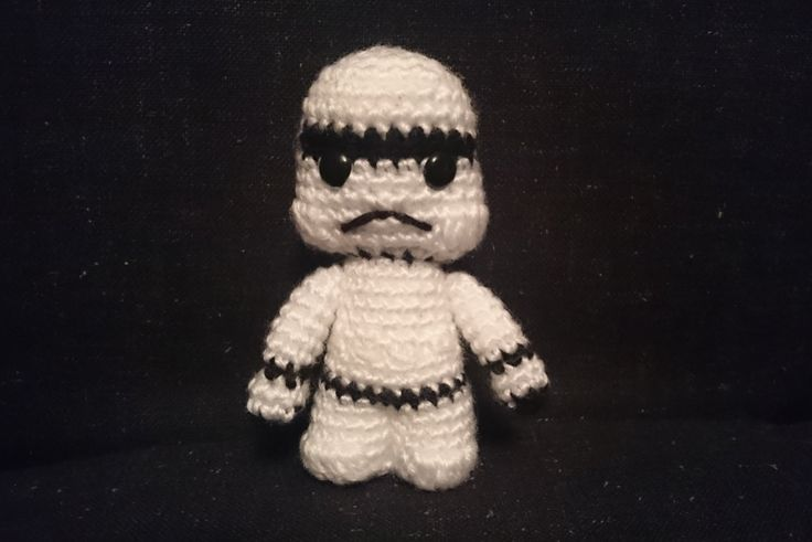 Stormtrooper - Star Wars inspired amigurumi doll by CrochetAga on Etsy