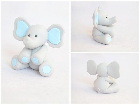 baby elephant cake elephant cake toppers elephant baby showers fondant