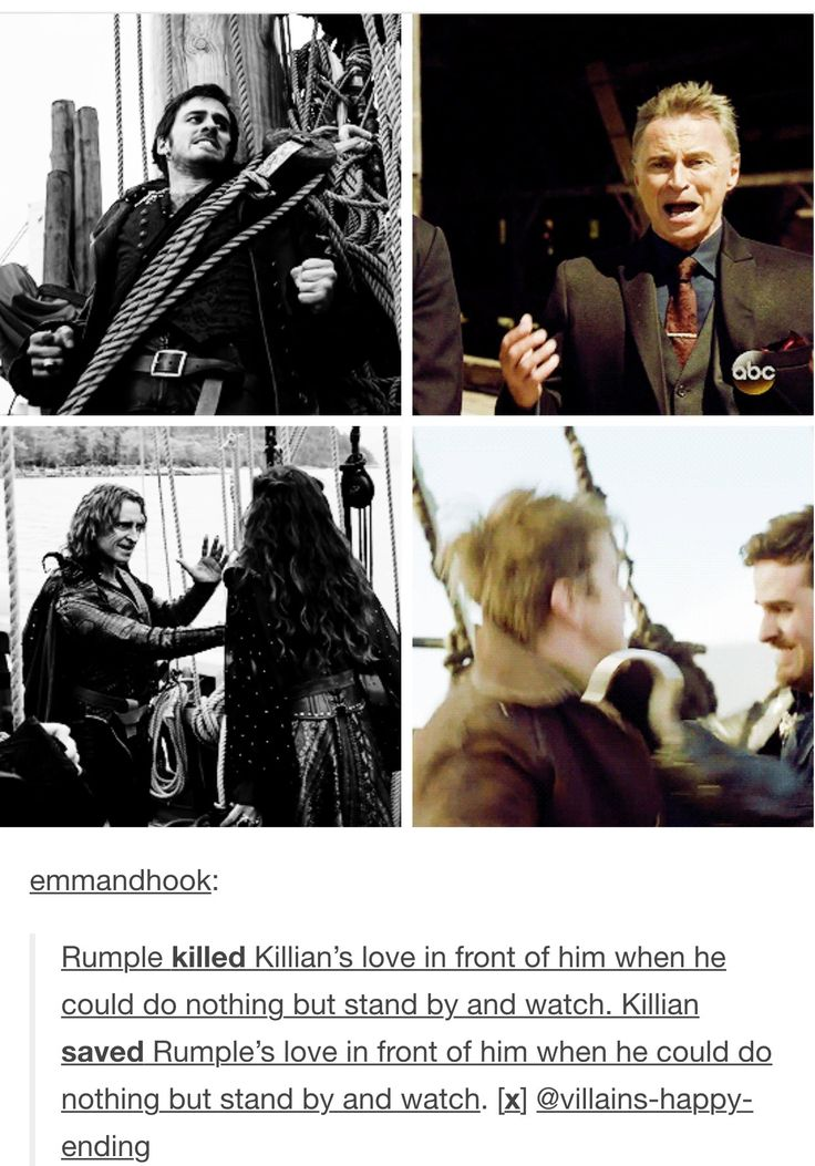 Proof Killian is no longer a villain...