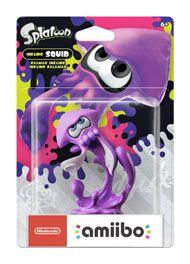 Inkling Squid (Neon Purple) Splatoon 2 amiibo Figure for Nintendo 3DS | GameStop