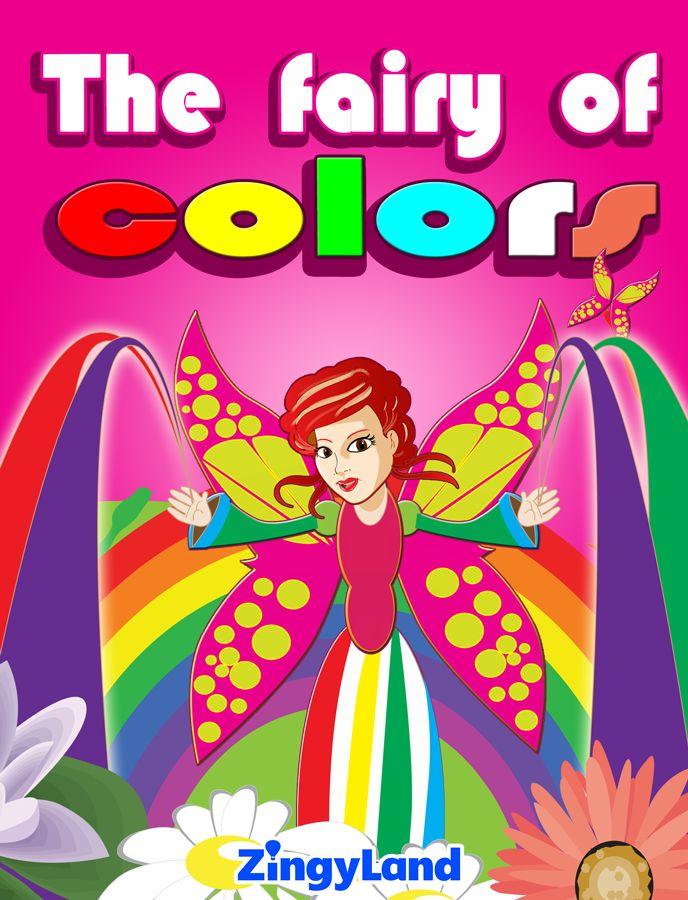 Learn the colors in a fantastic story. Color fairy takes kids into a world full of colors and surprises.