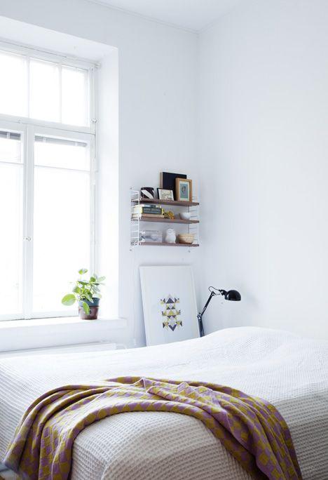 Bedroom van: http://www.kotivinkki.fi/koti-ja-puutarha/tuunaa-koti/koko-perheen-kaksio/