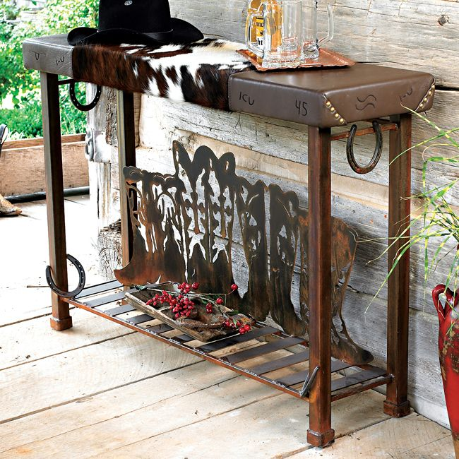 29 best images about decor love on pinterest western for Western style furniture and decor
