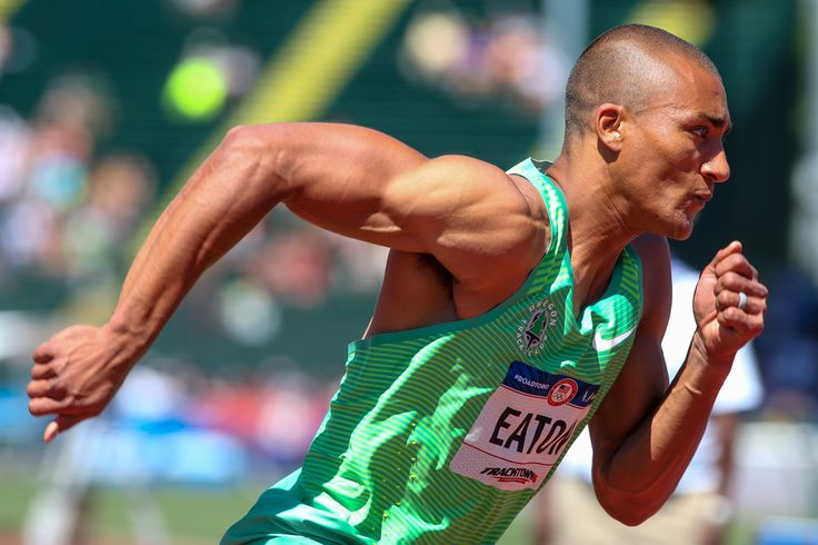 Ashton Eaton grabs Day 1 lead in decathlon at Olympic Track & Field Trials | Sports | Eugene, Oregon