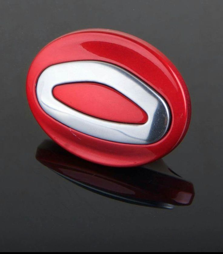 Red....Bacalite and Stainless Steel glass cover handles.