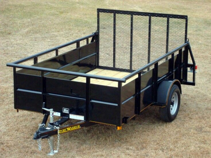 1000 images about trailer on pinterest trailers for Wood floor utility trailer