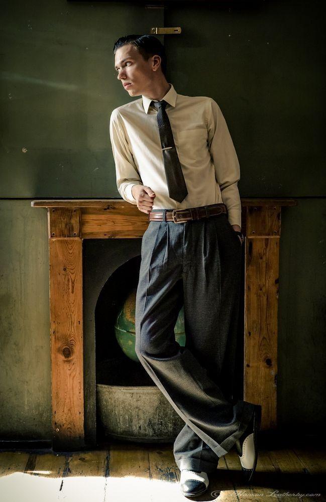 La moda masculina de los años 40's http://www.rincondecaballeros.com/threads/5571-La-moda-masculina-de-los-a%C3%B1os-40-s #rincondecaballeros